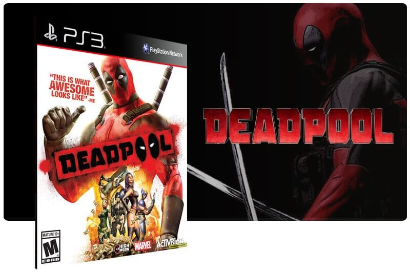Banner do game Deadpool para PS3