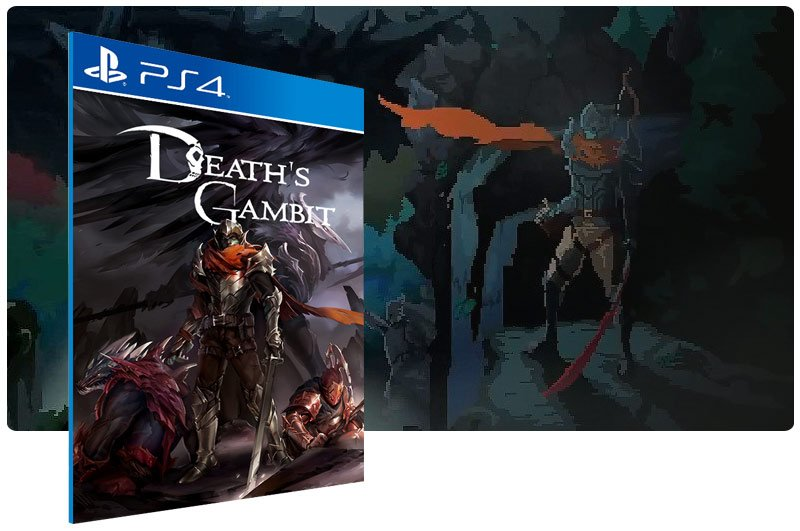 Banner do game Death's Gambit para PS4