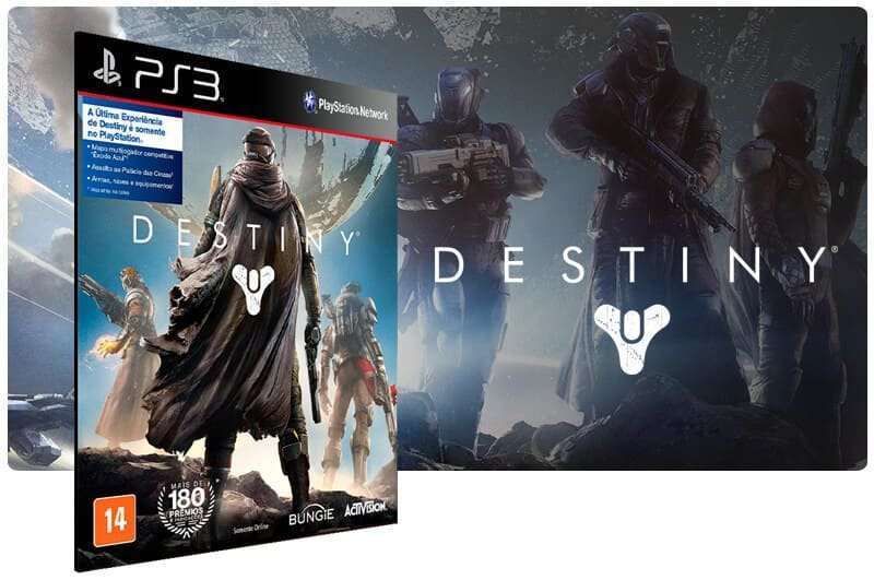 Banner do game Destiny para PS3
