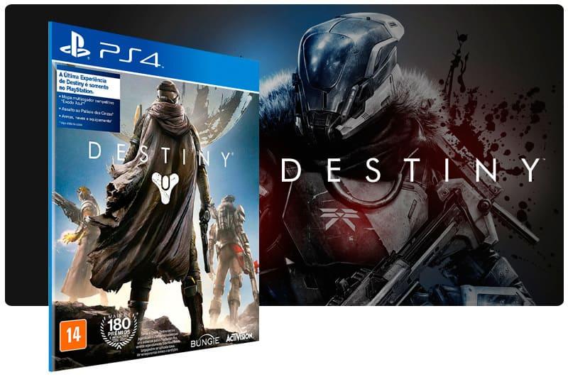 Banner do game Destiny para PS4