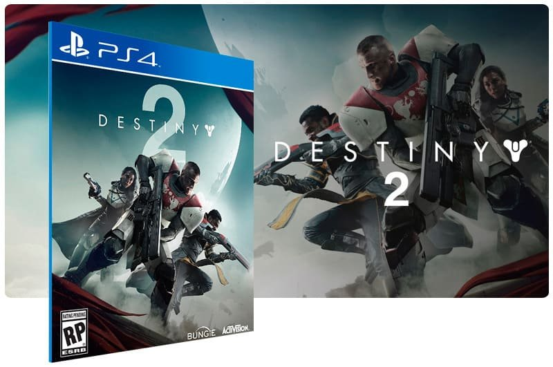Banner do game Destiny 2 para PS4