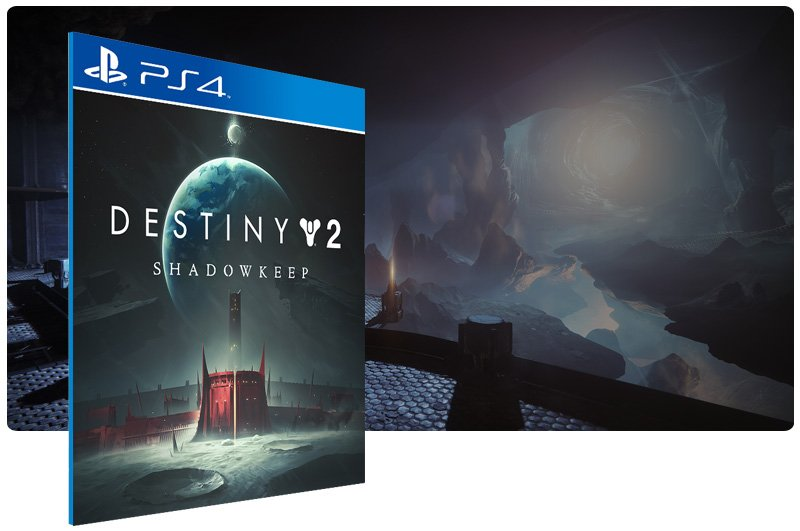 Banner do game Destiny 2: Shadowkeep para PS4