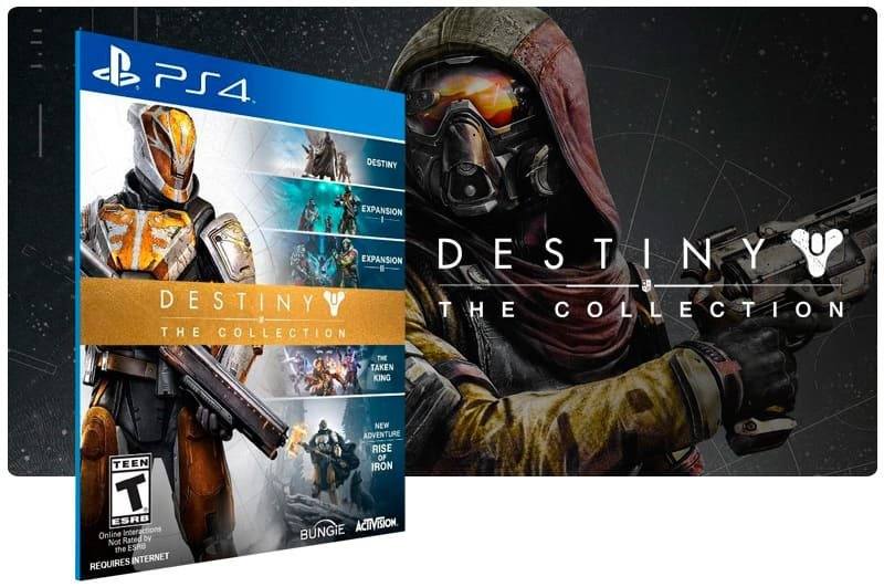 Banner do game Destiny The Collection para PS4
