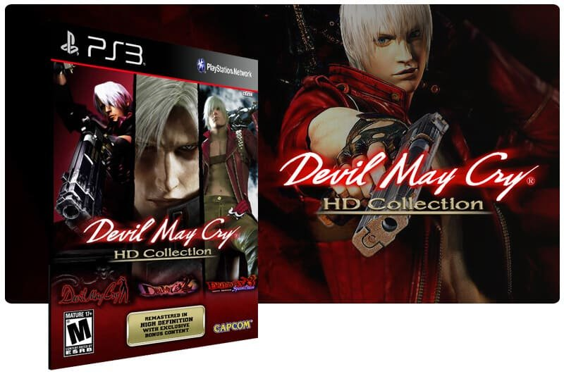 Banner do game Devil May Cry Hd Collection para PS3