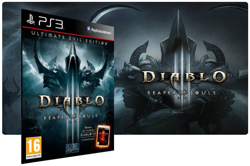 Banner do game Diablo 3 Reaper Of Souls Ultimate Evil Edition (Inglês) para PS3