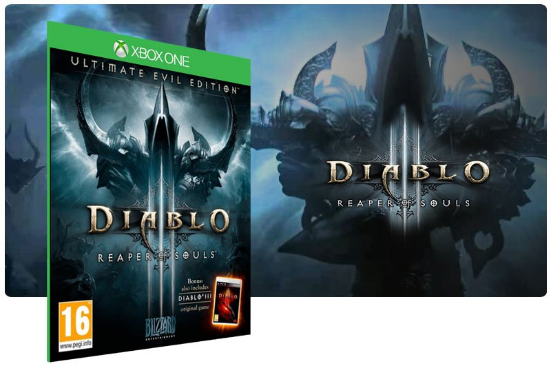 Banner do game Diablo 3: Reaper Of Souls Ultimate Evil Edition em mídia digital para Xbox One