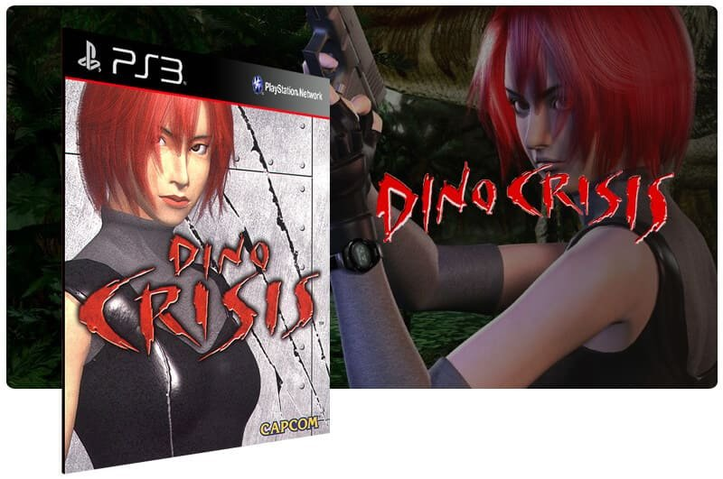 Banner do game Dino Crisis (Psone Classic) para PS3