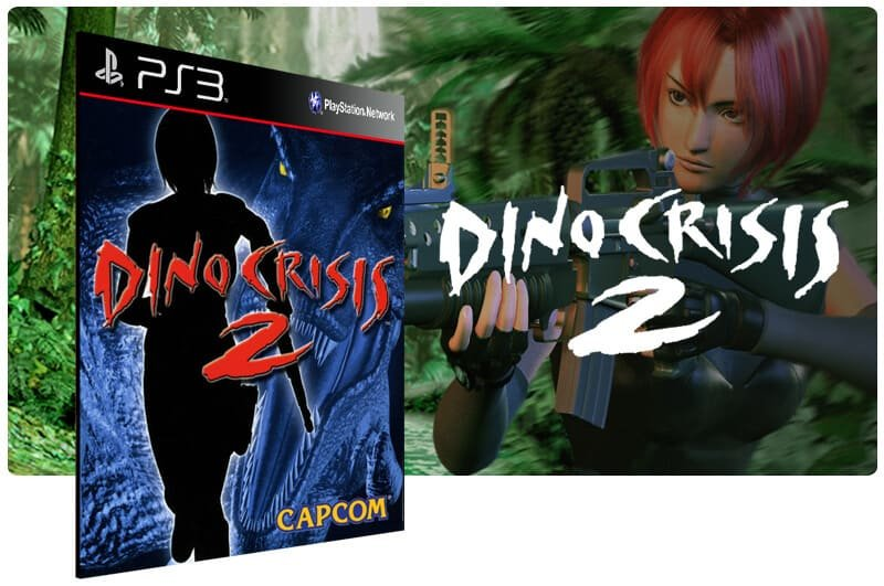 Banner do game Dino Crisis 2 (Psone Classic) para PS3