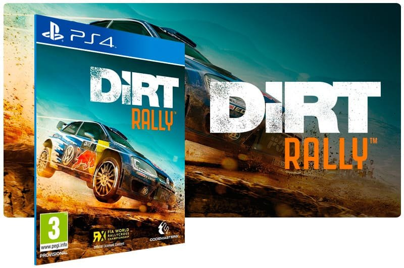 Banner do game Dirt RallyX para PS4X