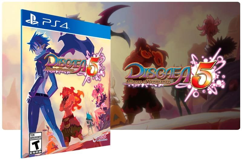 Banner do game Disgaea 5 Alliance Of Vengeance para PS4