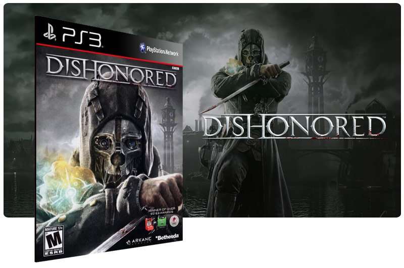 Banner do game Dishonored para PS3