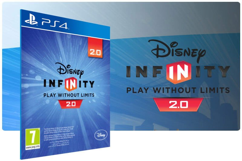 Banner do game Disney Infinity (2.0 Edition) para PS4