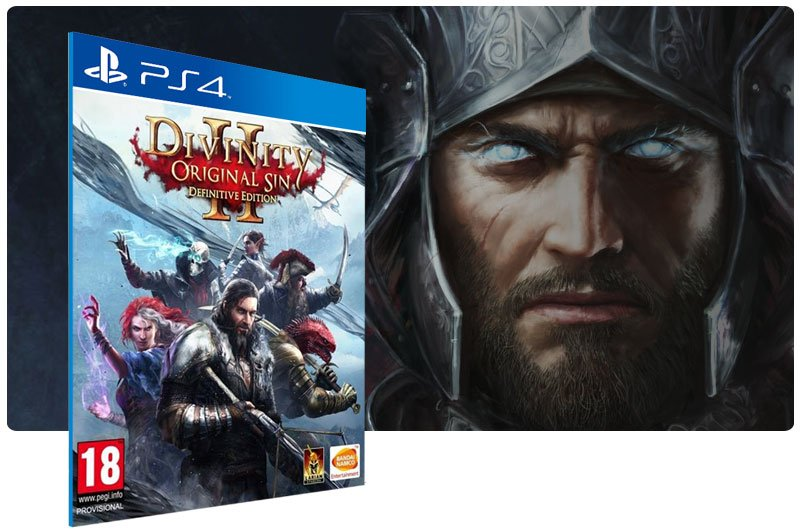 Banner do game Divinity Original Sin 2 Definitive Edition para PS4