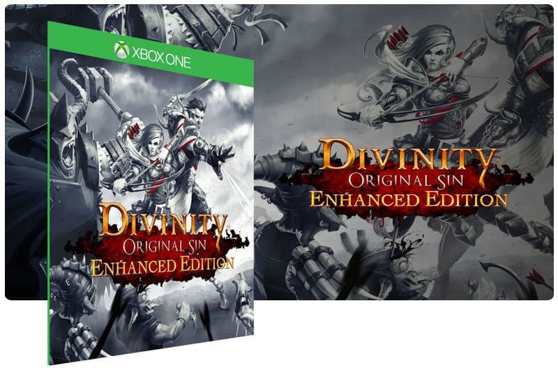 Banner do game Divinity Original Sin Enhanced Edition em mídia digital para Xbox One