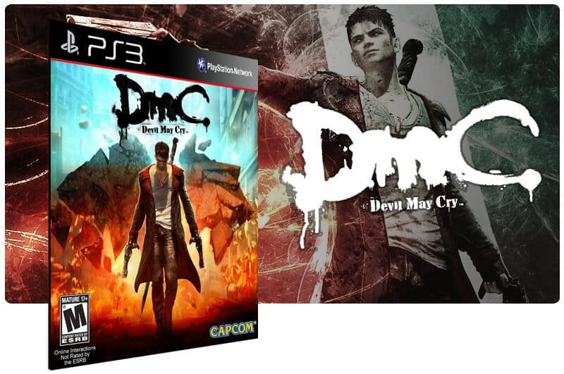 Banner do game Dmc Devil May Cry para PS3