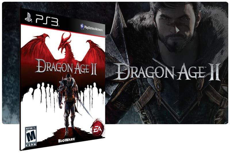 Banner do game Dragon Age 2 para PS3
