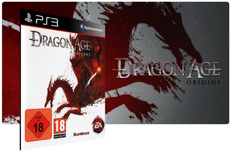 Banner do game Dragon Age Origins para PS3