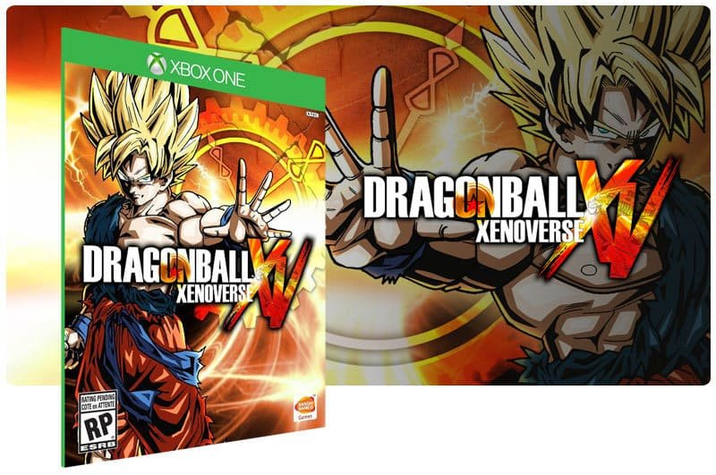 Banner do game Dragon Ball Xenoverse + Passe De Temporada em mídia digital para Xbox One