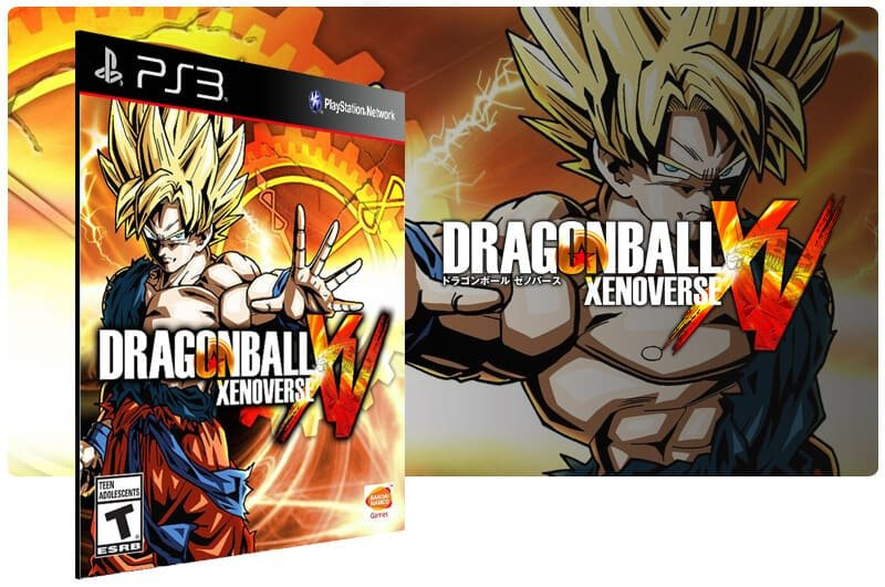 Banner do game Dragon Ball Xenoverse para PS3