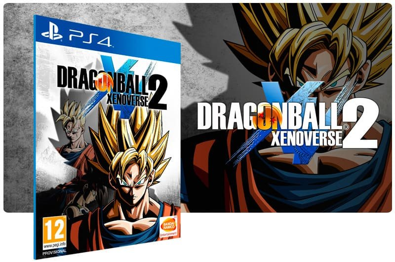 Banner do game Dragon Ball Xenoverse 2 para PS4