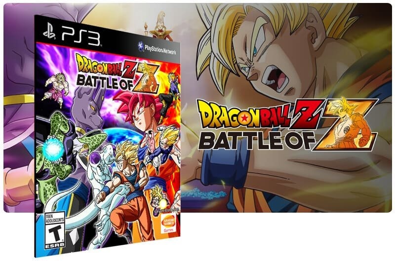 Banner do game Dragon Ball Z Battle of Z para PS3