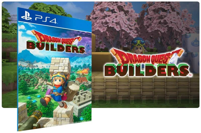 Banner do game Dragon Quest Builders Digital Day One Edition para PS4