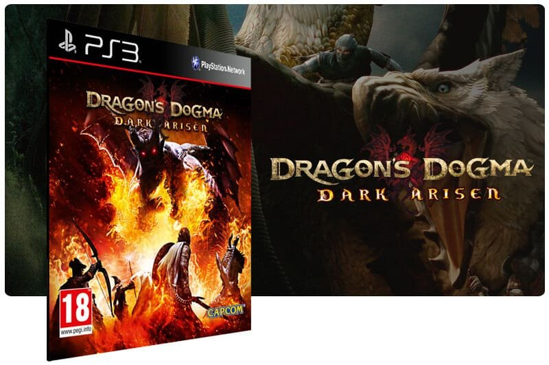 Banner do game Dragons Dogma Dark Arisen para PS3