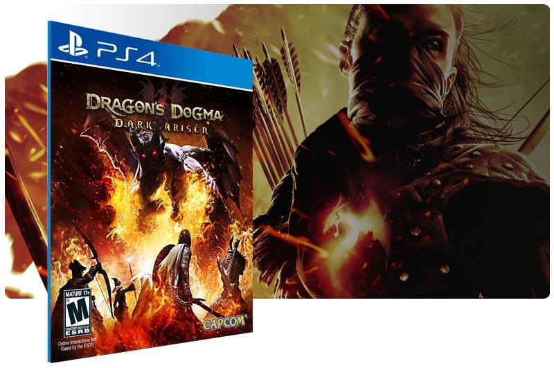 Banner do game Dragons Dogma Dark Arisen para PS4