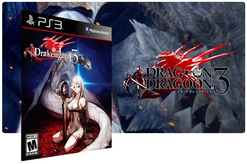 Banner do game Drakengard 3 para PS3