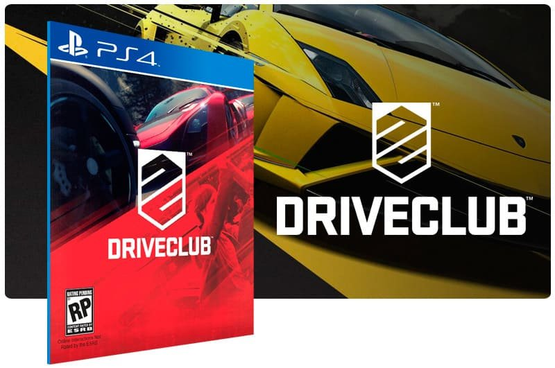 Banner do game Driveclub para PS4