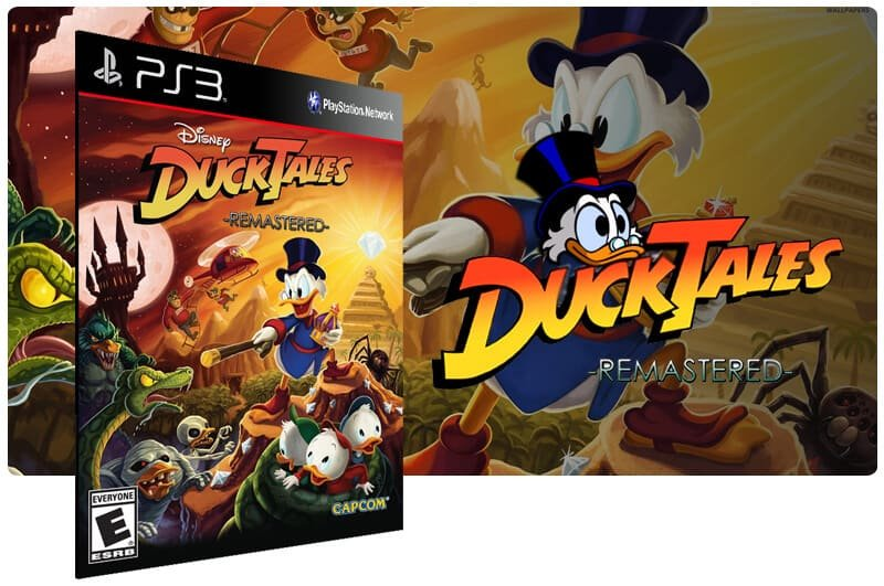 Banner do game Ducktales Remastered para PS3