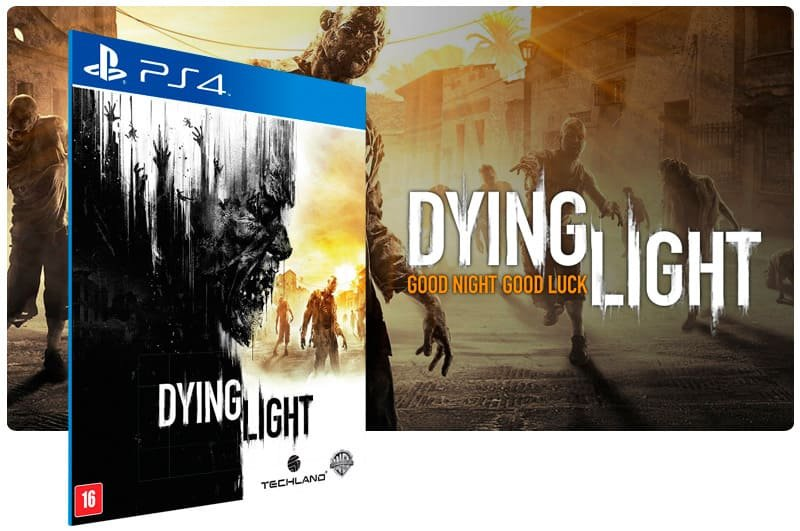 Banner do game Dying Light para PS4