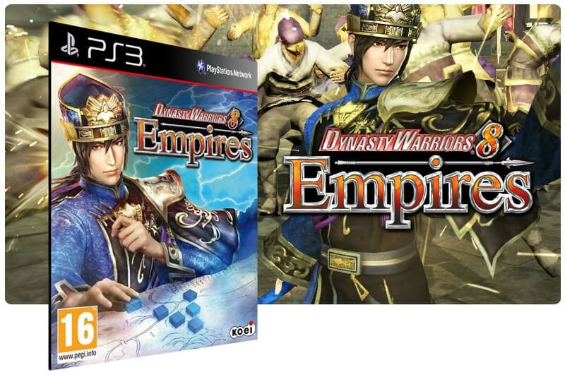 Banner do game Dynasty Warriors 8 Empires para PS3