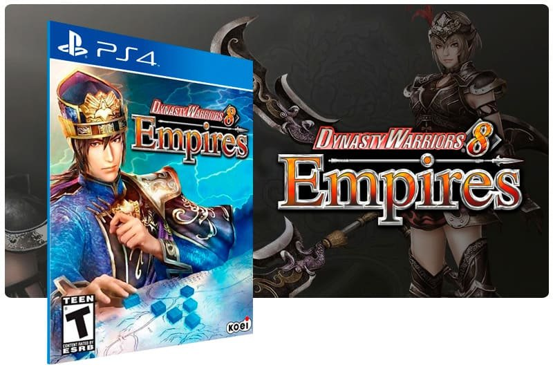 Banner do game Dynasty Warriors 8 Empires para PS4