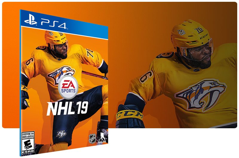 Banner do game EA SPORTS NHL 19 para PS4