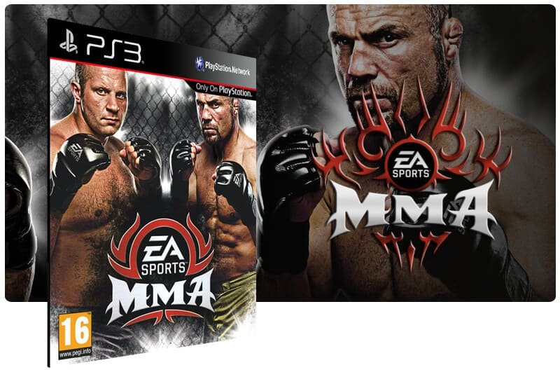 Banner do game EA Sports MMA para PS3