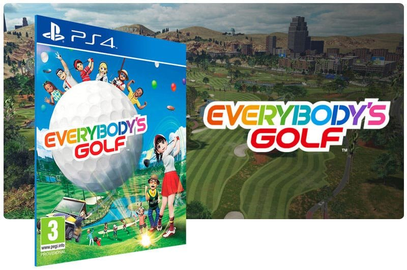 Banner do game Everybodys Golf para PS4