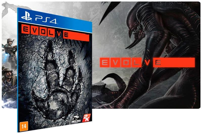 Banner do game Evolve para PS4