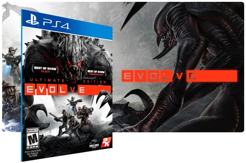 Banner do game Evolve Ultimate Edition para PS4