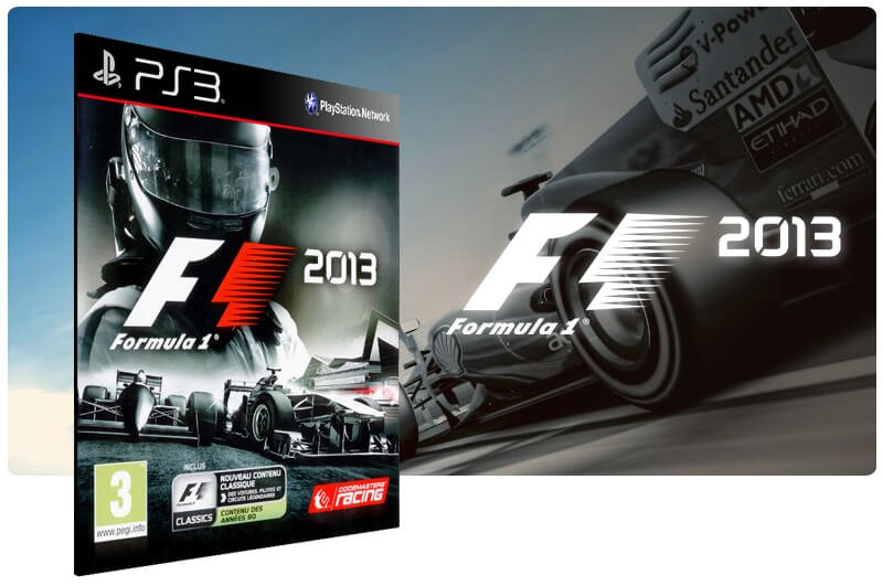 Banner do game F1 2013 para PS3