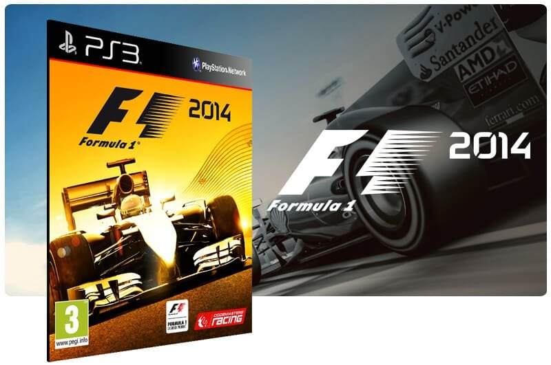 Banner do game F1 2014 para PS3