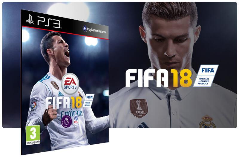 Banner do game FIFA 18 Legacy Edition para PS3