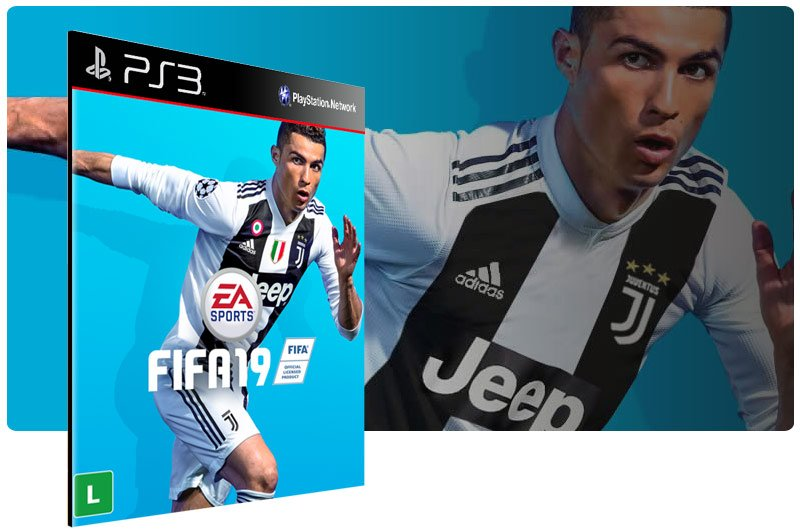 Banner do game FIFA 19 Legacy Edition para PS3