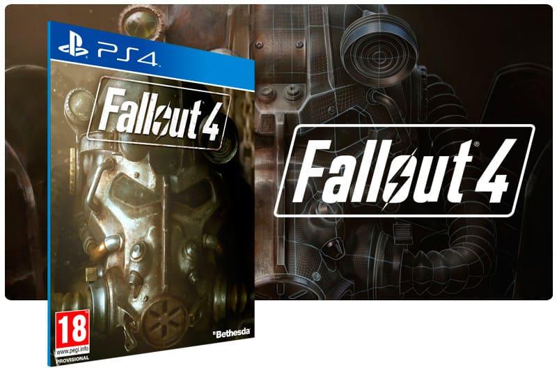 Banner do game Fallout 4 para PS4