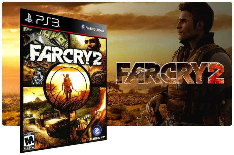 Banner do game Far Cry 2 para PS3
