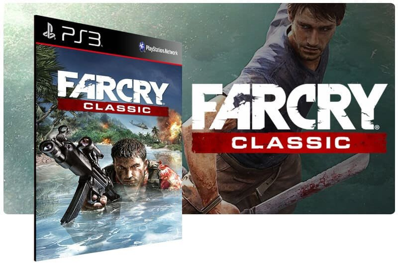 Banner do game Far Cry Classic para PS3