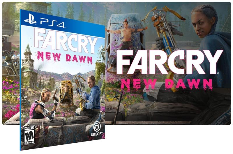 Banner do game Far Cry New Dawn para PS4