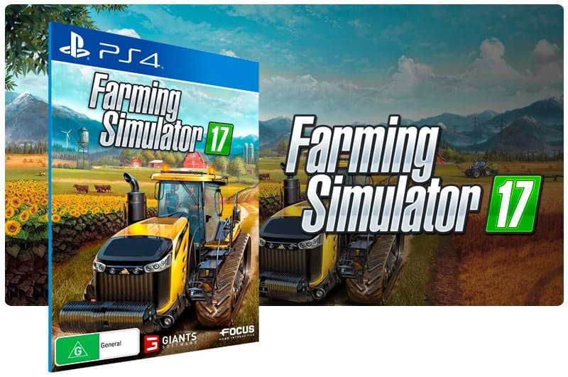 Banner do game Farming Simulator 17  para PS4