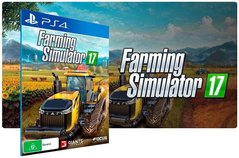Banner do game Farming Simulator 17  para PS4