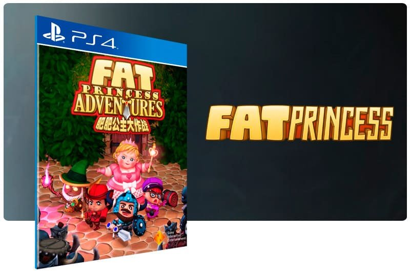Banner do game Fat Princess Adventures para PS4